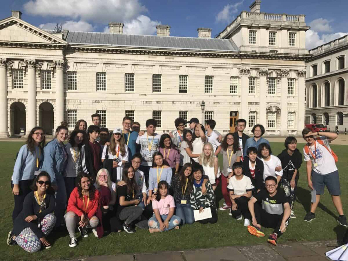 Globea summer camp UK Greenwich